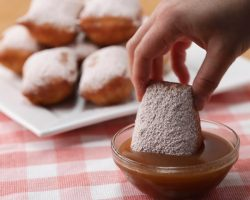 Apple Cider Beignets Are Perfect For Fall • Tasty