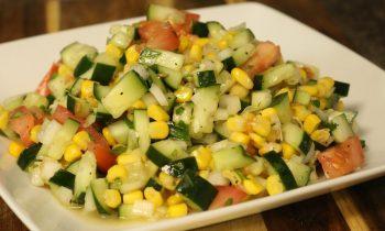 Cucumber Salad – Side Dish – Easy Recipe