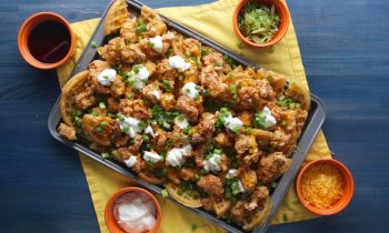 Chicken And Waffles Nachos • Tasty