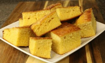 Delicious Homemade Cornbread – Easy Recipes – Side Dishes
