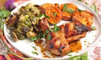 Maple Garlic Chicken | Full Meal