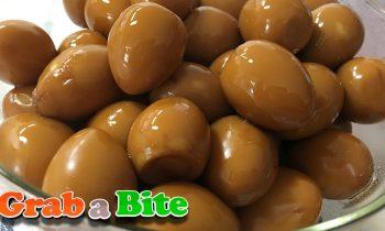 Quail Eggs in Soy Sauce (Mechurial Jorim : 메추리알 조림) – Korean Side Dishes [Part 2]