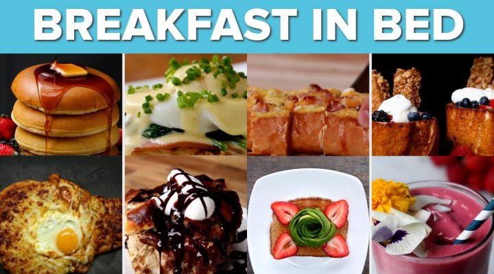 Recipes for Breakfast In Bed
