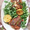 Blackened Roasted Salmon