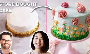 Preppy Kitchen Helps Rie Transform Store-bought Cake For Mother's Day • Tasty